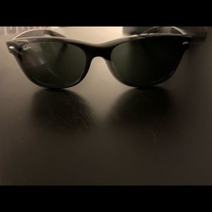 Men's Rat Ban Black Matte Wayfarer Sunglasses
